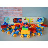 Prefabricated toy bricks for kids