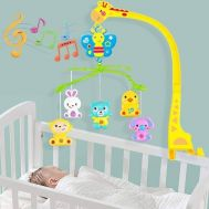 Musical toy to be attached to the bed