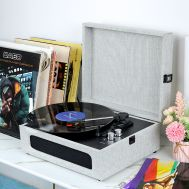 ფირსაკრავი Vinyl record player GOKA - RP09 Grey