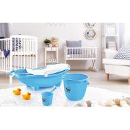 საბავშვო აბაზანა პლასტმასის ნაკრები  DUNYA 3ც 12017
