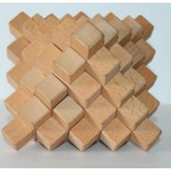 Wooden puzzle 33 pieces Pyramid Geostyle Wood Art
