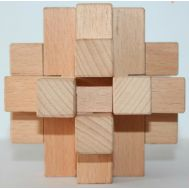 ​Wooden puzzle 12 pieces (diffiult lock)​