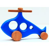 Geostyle wood art baby helicopter