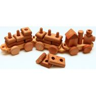 Geostyle wood art Train Set