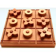 Geostyle wood art Wooden Toy X & O