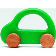 Geo Style Art wood Baby Car