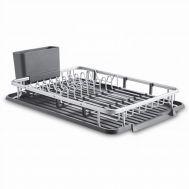 Dish dryers, Dish drying rack with drain board