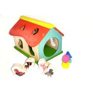 Wooden Toys, wooden ty - Sorter
