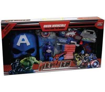თოფი Captain America – ს აქსესუარებით