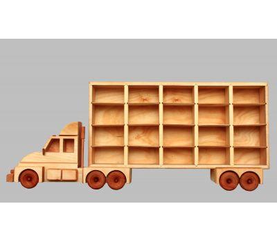 მანქანების თარო - Geostyle wood art