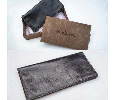 Bibbirru -ს ტყავის საფულე 2