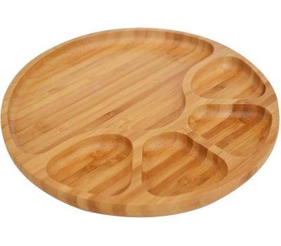 Bambum Tortil B2627 5 Section Serving Plate