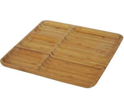 Bambum Darlin B2519 4 Section Serving Plate