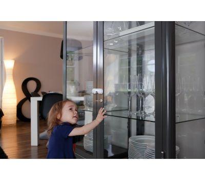 Glass door latch JC4200A LIA