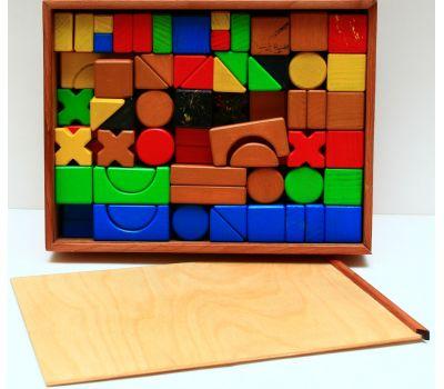 Geostyle wood art Wooden Construction Set XL