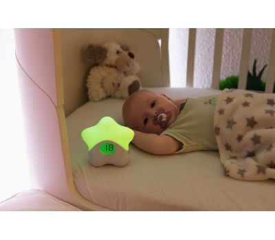​​Night light with temperature display JC8650 Lily