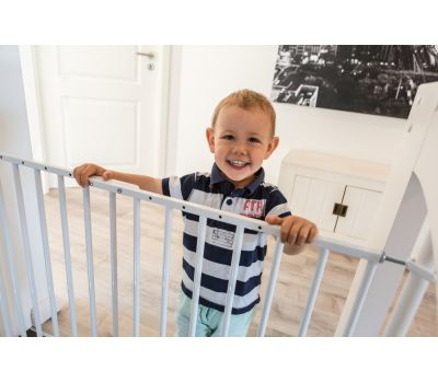 ​Metal door and stair gate JC9210 W Tim