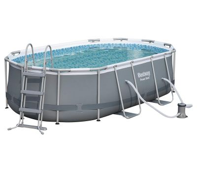 Oval Pool Set 4.24 x 2.50 x 1.00