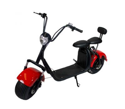 city coco Electric moped Red