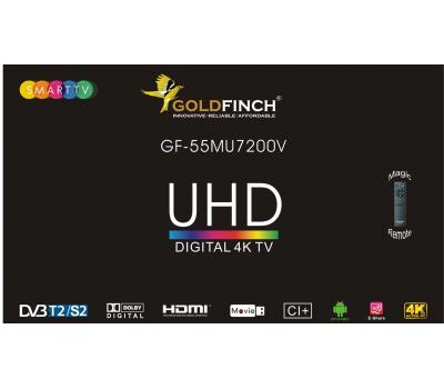 """ტელევიზორი Goldfinch 55MU7200V 4K 55"""" LED TV 3"""