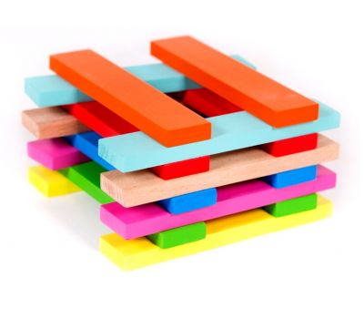 Wooden toys, Wooden toy constructor bricks